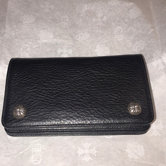 1f83ecb0850 ... chrome hearts bags wallet poshmark  wallet taxi black ...